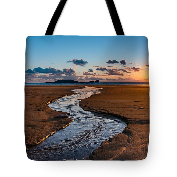 Wales Gower Coast Tote Bag