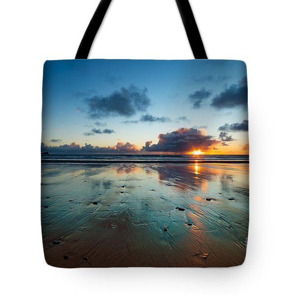 Wales Gower Coast Summer  Tote Bag