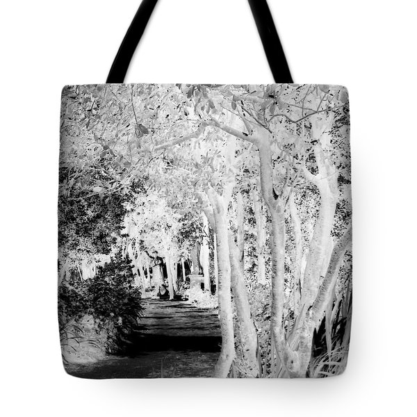 Walk In The Dark Tote Bag