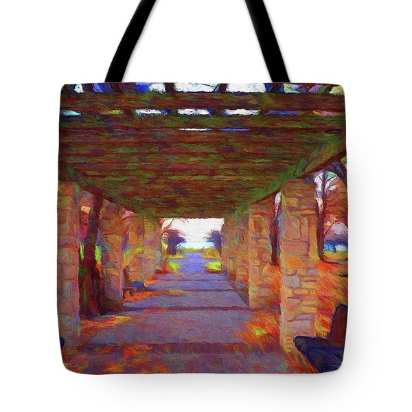 Walk In The Park Tote Bag by Jeff Kolker