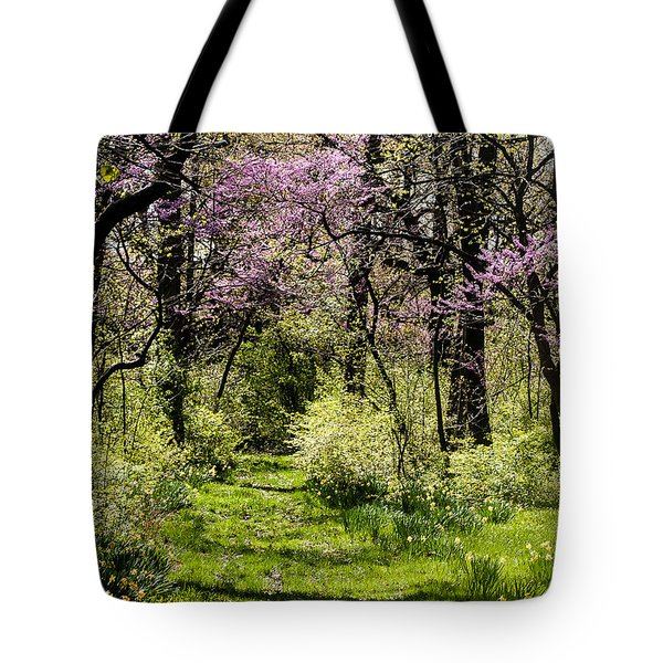 Walk In The Park Tote Bag