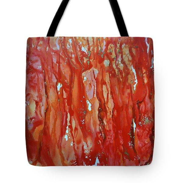 Walk In The Wood Tote Bag