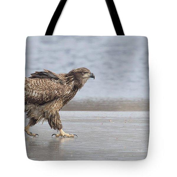 Walk Like An Eagle Tote Bag