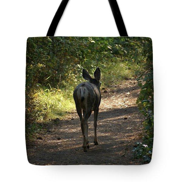 Walk On Tote Bag by Ben Upham III