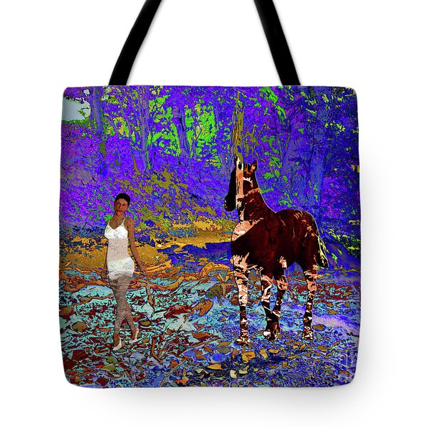 Walk The Enchanted Forest Tote Bag