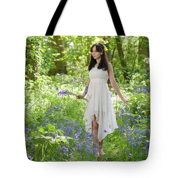 Walk Through The Bluebells Tote Bag
