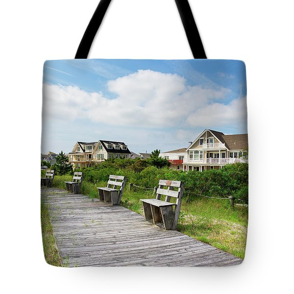 Walk Through The Dunes Tote Bag
