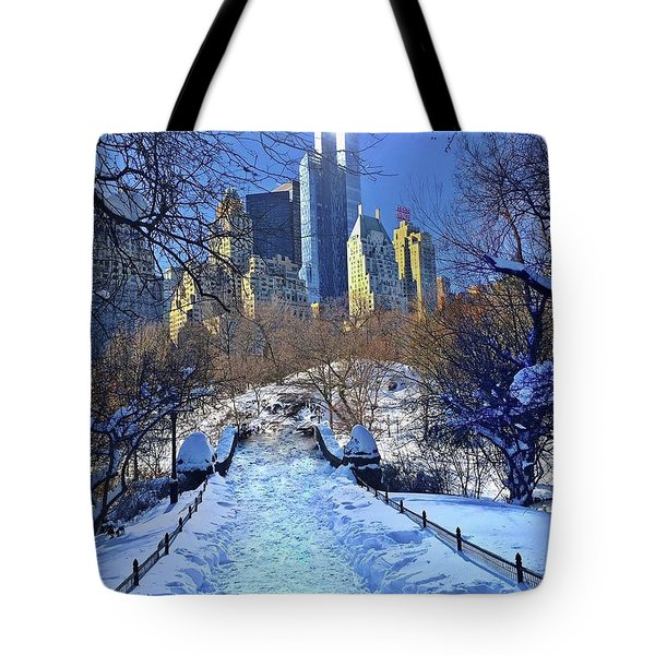 Walk Thru Central Park Tote Bag