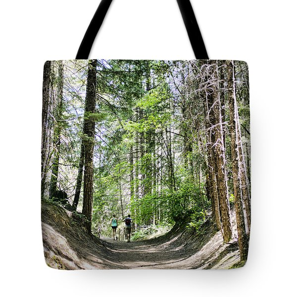 Tote Bag featuring the photograph Walk To Mill Creek by Hugh Smith