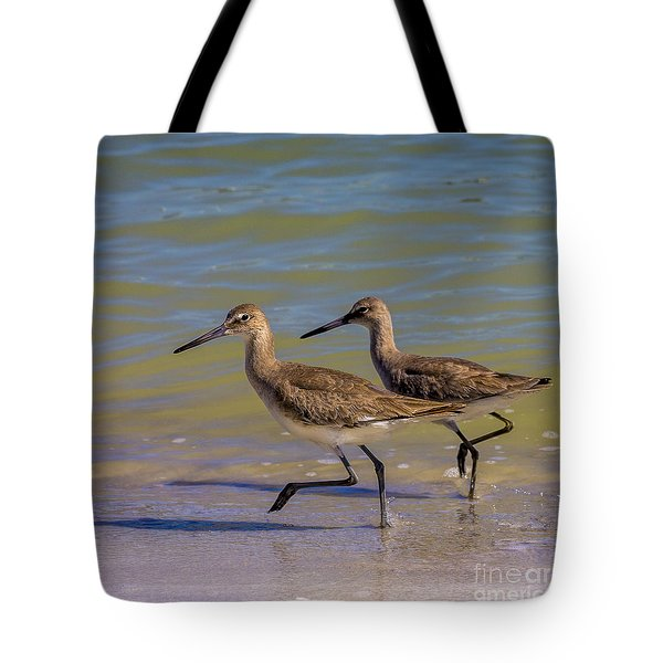 Walk Together Stay Together Tote Bag