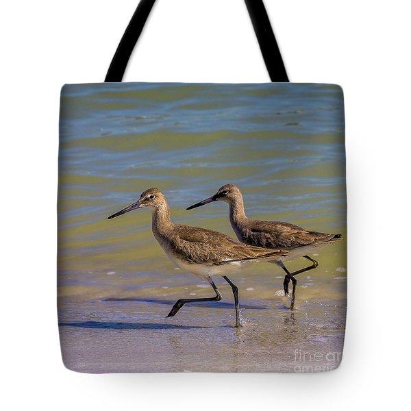 Walk Together Stay Together Tote Bag