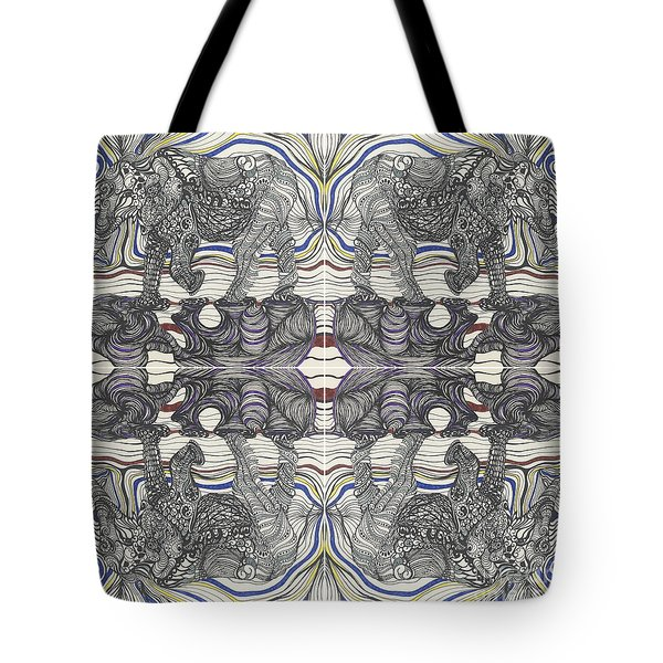 Walk With Me X 4 Tote Bag