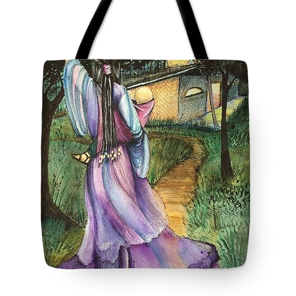 Walk With My Baby Tote Bag