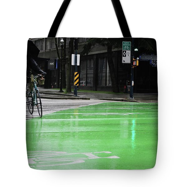 Tote Bag featuring the photograph Walk With Wheels  by Empty Wall