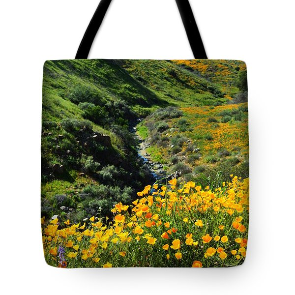 Tote Bag featuring the photograph Walker Canyon Vista by Glenn McCarthy Art and Photography