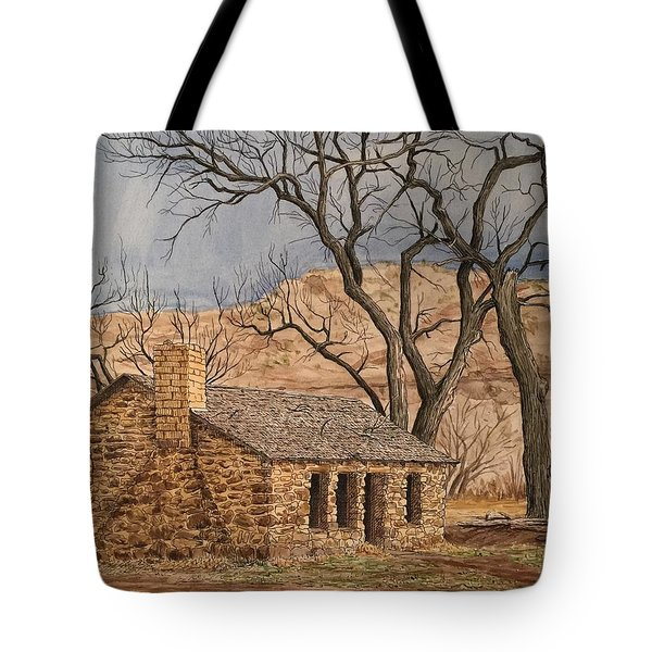 Walker Homestead In Escalante Canyon Tote Bag