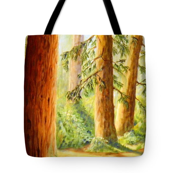 Walker Park In Summer Tote Bag