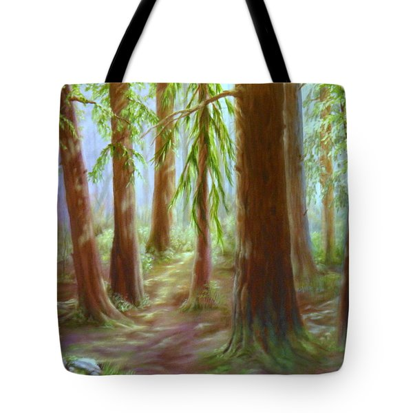 Walker Park Woods Tote Bag