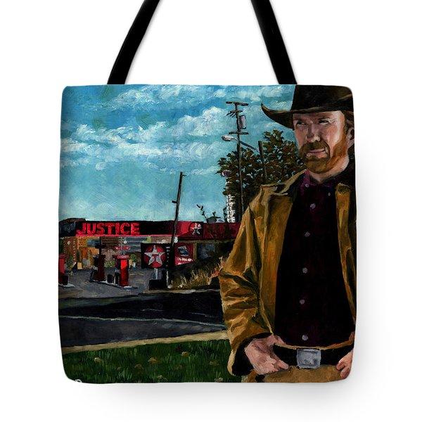 Walker Texaco Ranger Tote Bag by Thomas Weeks