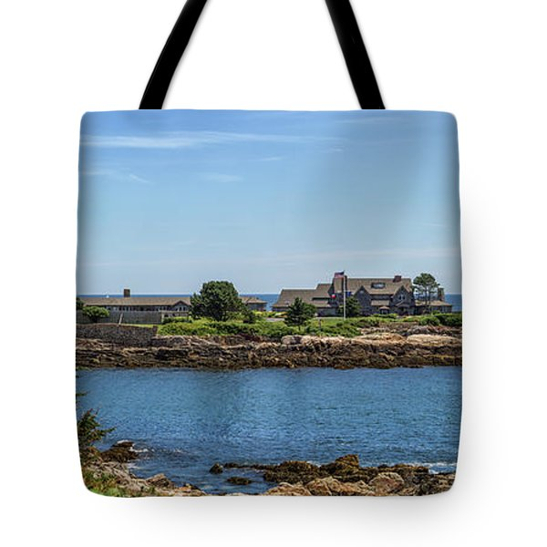 Walkers Point Kennebunkport Maine Tote Bag by Brian MacLean