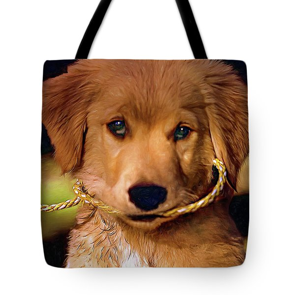 Walkies...pleeease Tote Bag by Steve Harrington