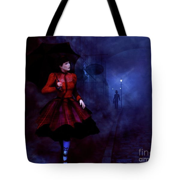 Walking After Midnight Tote Bag by Methune Hively