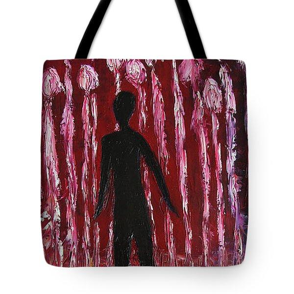 Walking Away Tote Bag