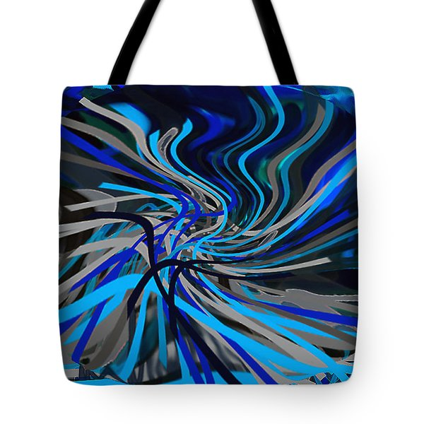 Walking Between Heaven And Earth. Tote Bag