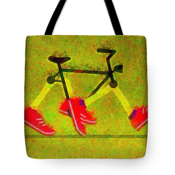 Walking Bike - Pa Tote Bag