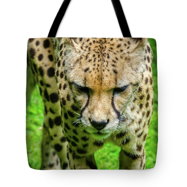 Walking Cheeta Tote Bag