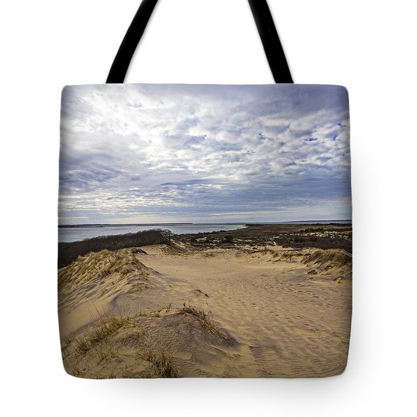 Walking Dunes Montauk Tote Bag