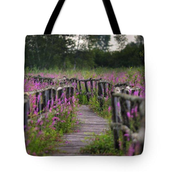 Walking In Magic... Tote Bag