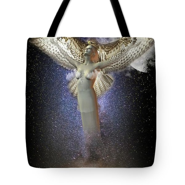 Walking In The Air Tote Bag