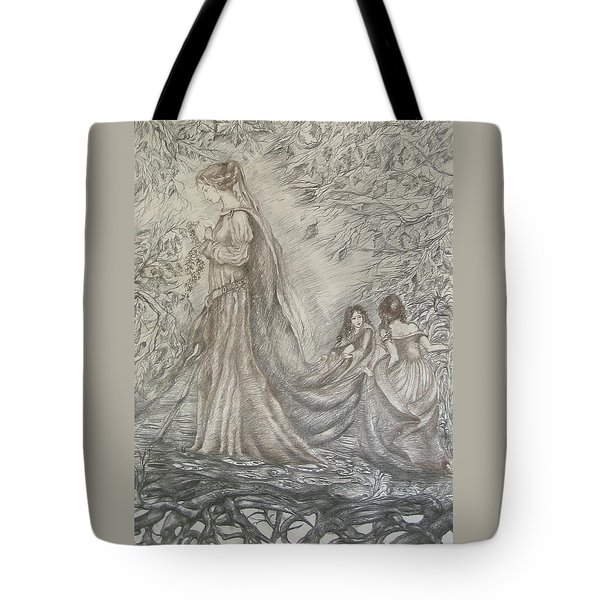 Walking In The Magic Garden Tote Bag by Rita Fetisov