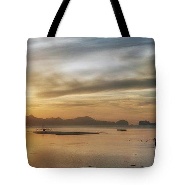 Walking In The Sun Tote Bag by John Swartz