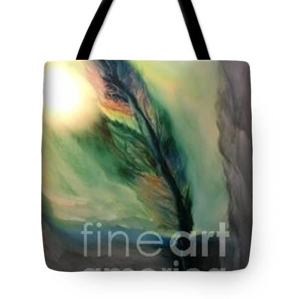 Walking In Your Light  Tote Bag