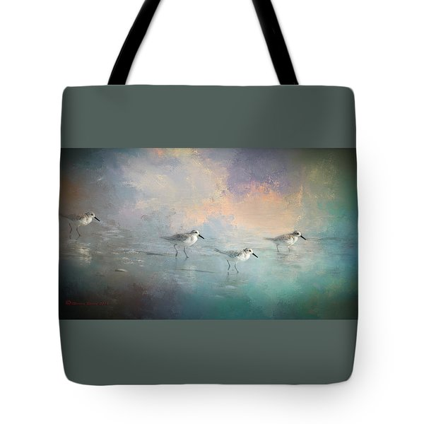 Walking Into The Sunset Tote Bag