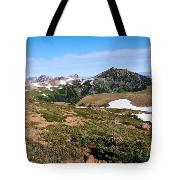 Walking The Mountains Tote Bag