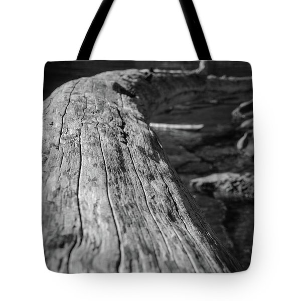 Walking On A Log Tote Bag