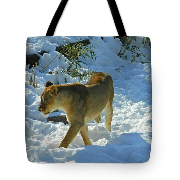 Walking On The Wild Side Tote Bag