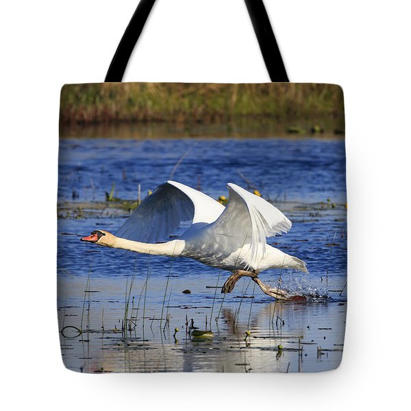 Walking On Water Tote Bag by Gary Hall
