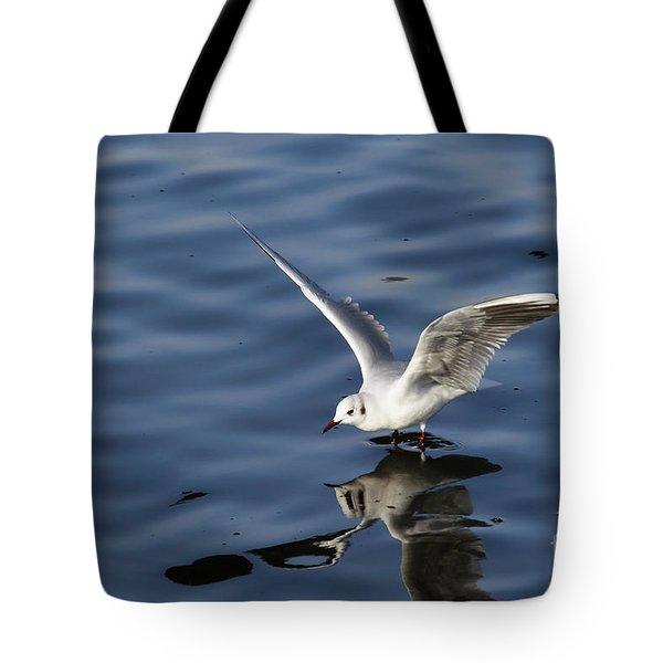 Walking On Water Tote Bag by Michal Boubin