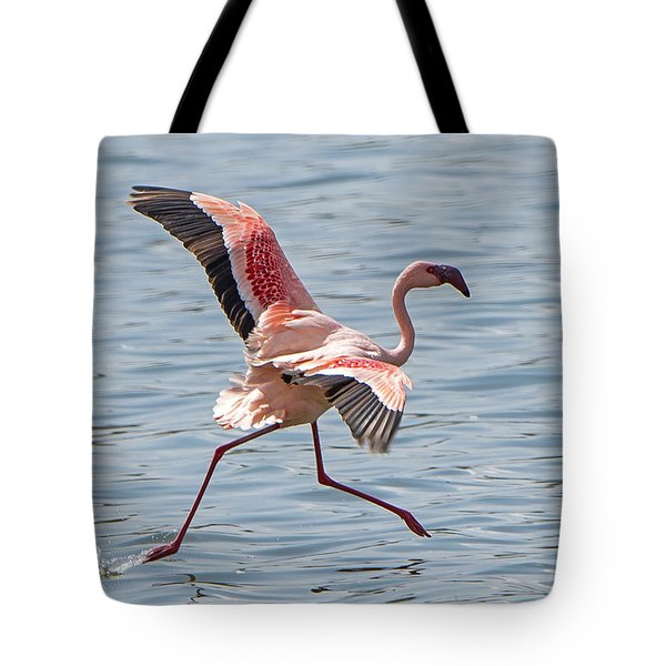 Walking On Water Tote Bag by Pravine Chester