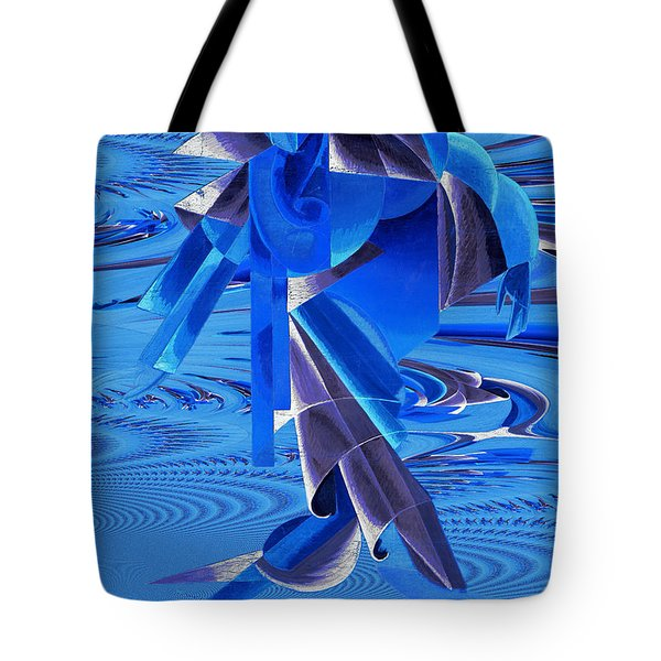 Walking On Water Tote Bag