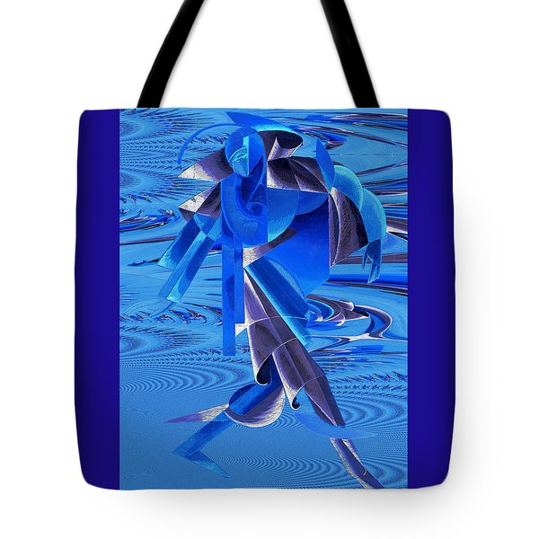 Walking On Water Tote Bag by Robert G Kernodle