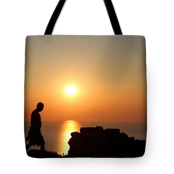 Walking Paradise Tote Bag