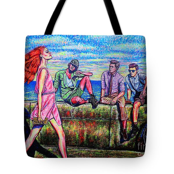 Walking Proud Tote Bag