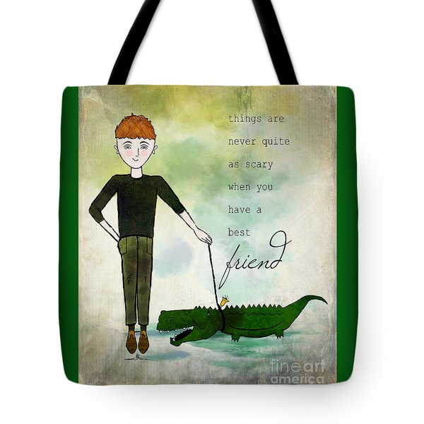 Walking Reginald From Ginkelmier Land Tote Bag