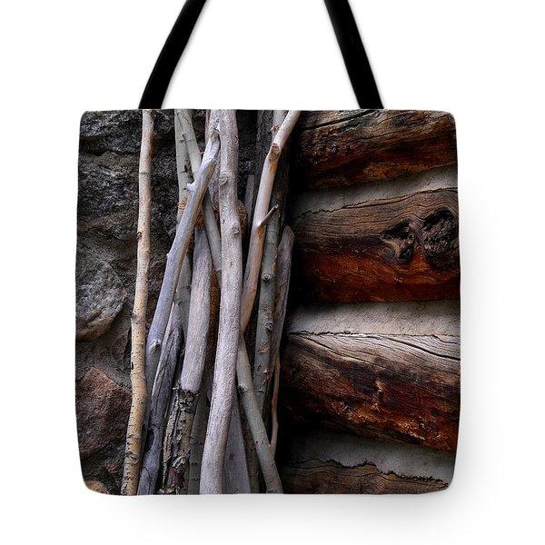 Walking Sticks Tote Bag