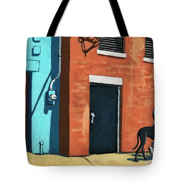 Walking Tall Tote Bag
